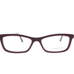 Burberry B 2190 3403 Burgundy Eyeglasses ODU